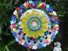 glass garden art - Bing Images