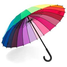 Colour wheel umbrella - to brighten the moody rainy days.  And with my Pantone book, I'll know all their names (take that, you 8-color crayon box people)!