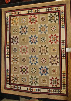 Vermont Quilt Festival 2012: 'Oh My Stars' by Sue Freeland