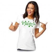 st. pat's girl tee   sport your Irish pride!  M-xl [for just $5] #fivebelow