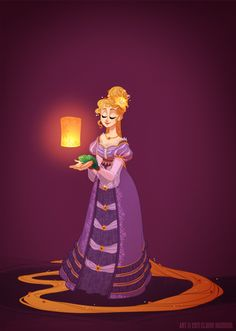 Such a clever grown-up miss Claire Hummel. Historical Disney Princesses. Rapunzel, Tangled. I am clearly obsessed. #Pascal #lantern #fanart
