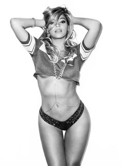 Beyonce says she is a healthy size 12. I believe I am too. Plus our big booties don't help! haha