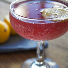 Valentine's Day Cocktail Recipe: The Rose Noir | Martha Stewart