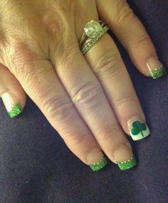St. Patrick's Day Nails nail idea
