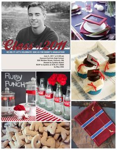 Graduation Party ideas....so many...so cute!