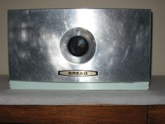 vintag bread, aluminum breadbox, bread boxes, breadbox bread, box vintag