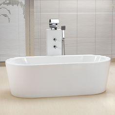"$1400.00 70"" Marlon Acrylic Freestanding Tub"
