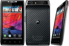 Motorola RAZR XT910 - Not had enough time with it to gather my thoughts fully.