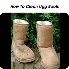 How To Clean Ugg Boots - http://www.hometipsworld.com/how-to-clean-ugg-boots.html