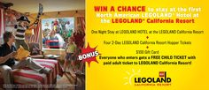 Win a chance to stay at the new Legoland hotel