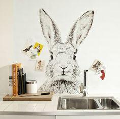 rabbit print, print magnet