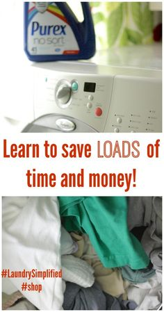 Laundry rules have changed!  Save LOADS of time and stop sorting now!