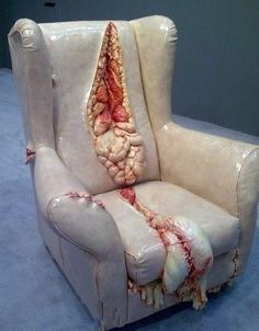 Creative sofa design.