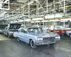 1964 Chevrolet Impala Sport Assembly chevrolet impala, impala sport