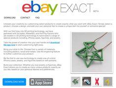 """Print3d World: eBay se sube al carro de la impresión 3D con la aplicación móvil """"eBay Exact"""" http://www.print3dworld.es/2013/07/ebay-se-sube-al-carro-de-la-impresion-3d-con-su-aplicacion-ebay-exact.html"""