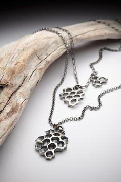 honeycomb pendants