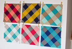 Cirrus Plaid Quilt Tutorial from Bad Skirt.