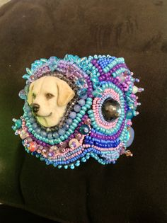 Zoey my Laura Mears porcelain cabochon by UniqueandMacabre on Etsy, $500.00
