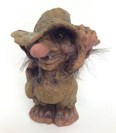 Original Ny Form Troll From Norway Rogue With Hat 264 Handmade Nyform Hatted #NyForm #Troll