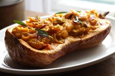 Whipped Butternut Squash and Red Onion