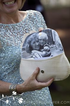Great gift for the mother of the groom! You can get them on Etsy. So special!  Copyright Jennifer Driscoll Photography