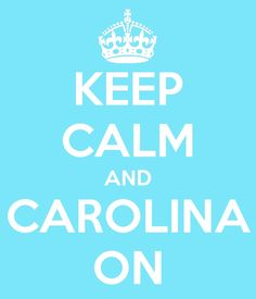 Sweet Carolina is calling me home <3 Oh bring on the warm weather!