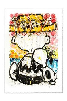 """""""Mon Ami"""" Hand Signed Original Lithograph on Paper - 21"""" x 30.5"""""""