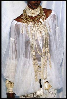 Gaultier spring 2004    #MissKL #MissKLCoachella