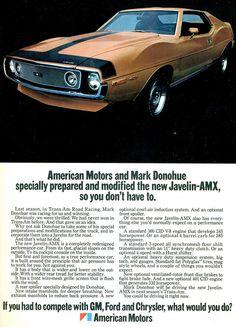 1971 AMC Javelin AMX  by coconv, via Flickr