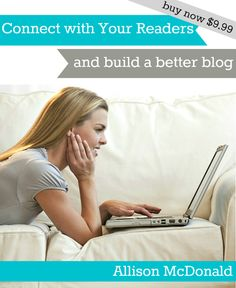 New eBook from Allison McDonald one of the Top 20 Moms { A must read for new and established bloggers}