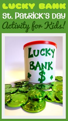 Little Family Fun: Lucky Bank: St. Patrick's Day Games for Kids