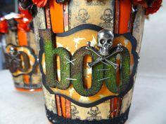 Annette's Creative Journey: Halloween treat buckets