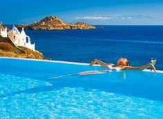 VISIT GREECE| Revitalise your senses in Greece #wellness #leisure #hotels #spa #springs #Mykonos