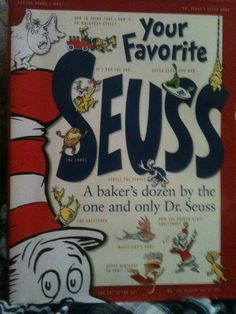 'Dr. Suess A Bakers Dozen Favorite Stories First Edition' is going up for auction at  7pm Sun, Sep 8 with a starting bid of $5.