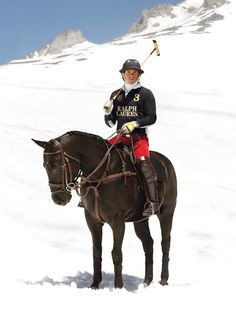 The Style Examiner: Ralph Lauren Dresses St. Moritz Snow Polo World Cup Teams