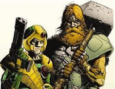 2000 AD - Strontium Dog, Johnny Alpha and Wulf