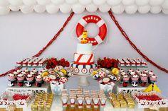 festa aniversário marinheiro