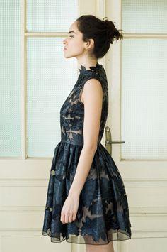 Mini little black lace dress by NelliUzun on Etsy, $280.00