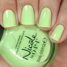 Nicole by OPI: Summer 2014 Seize The Summer Collection