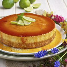 Leche Flan Cheesecake