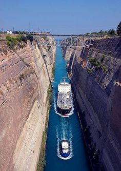 Been here: The Corinth Canal