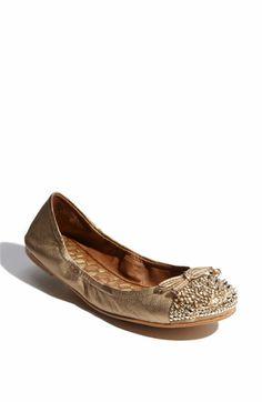 Love the spiky studs on an otherwise ultrafeminine pair of ballerina flats -- Sam Edelman 'Beatrix' Flat $129.95