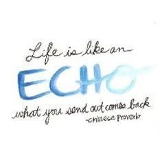 Life is like an Echo