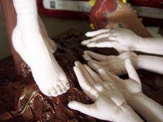 NEW Hands & Feet Needle Sculpting~ Cloth Dolls Online Class
