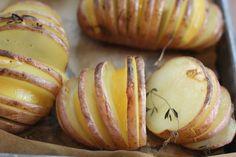 Sliced & Seasoned Baked Potatoes
