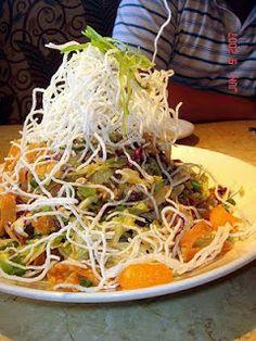 Cheesecake Factory Restaurant Copycat Recipes: Chinese Chicken Salad factori restaur, cheesecakes, cheesecak factori, chicken salads, restaurant copycat recipes, sauc, restaur copycat, chines chicken, plum