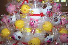 Farm Party: Cake Pops - Cow, Pig, Chick