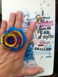 "My @YarnbombingLA ""Put on a Ring On It"" #Crochet #Art Contribution"