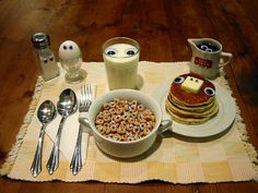 Breakfast with eyes! sweet breakfast, googly eyes, funny humor, april fools day, food photography, funny wallpapers, food art, morning breakfast, meal