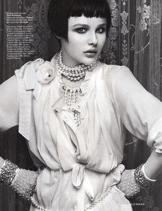 Chloë Grace Moretz // Vogue Russia 2012
